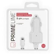 Apple 8-pin iPhone 5/6 (1000 mA) белый * АЗУ Prime Line
