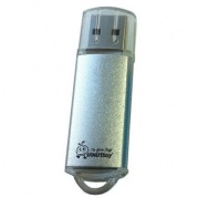 USB 32 Gb Smart Buy V-Cut Silver * Карта памяти