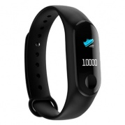 SMARTERRA FitMaster Color Black * Фитнес-браслет
