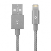 Apple 8-pin для iPhone, TTEC 2DKM02UG Lighting MFI, сер.космос * Дата-кабель USB