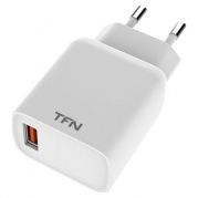 USB Rapid+QC3.0 18 W White * СЗУ TFN