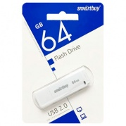 USB 64 Gb Smart Buy LM05 White * Карта памяти